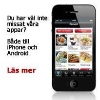 MatHems Iphone och Android applikation